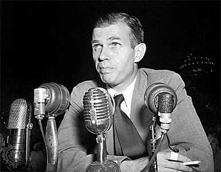 Alger Hiss Alleged Soviet agent and American diplomat