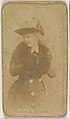 Alice Evans, from the Actors and Actresses series (N45, Type 8) for Virginia Brights Cigarettes MET DP831672.jpg
