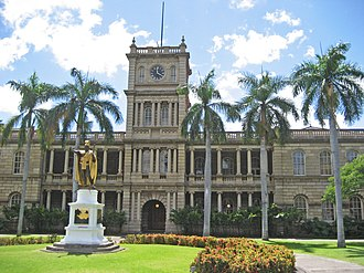National Register of Historic Places listings in Oahu - Image: Aliiolanihale