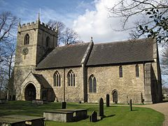 All Saints Hooton Pagnell 2013 view 02.jpg