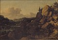 Allaert van Everdingen - Mountain Landscape with a Couple of Horsemen in the Foreground - KMSsp514 - Statens Museum for Kunst.jpg