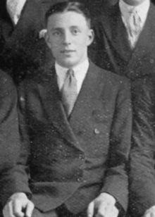 Photo du célèbre joueur Allan La Fontaine.