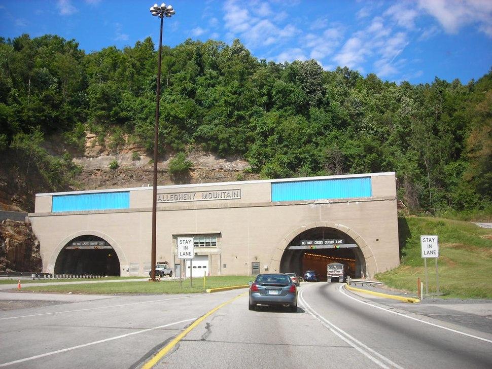 Allegheny Mountain tunnel portal