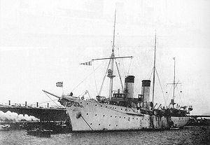 Russian cruiser Almaz - Almaz