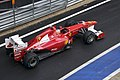 Alonso at pit-lane 2011 British GP.jpg