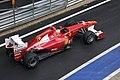 Alonso at pit-lane 2011 British GP.jpg