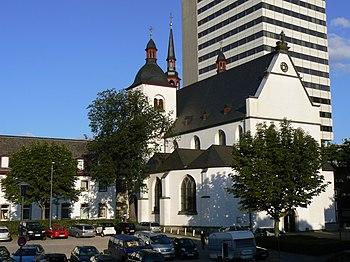 Exterior de la actual Abadía de Deutz.