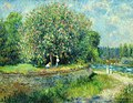 Alte Nationalgalerie, Pierre-Auguste Renoir, blühender Kastanienbaum.JPG
