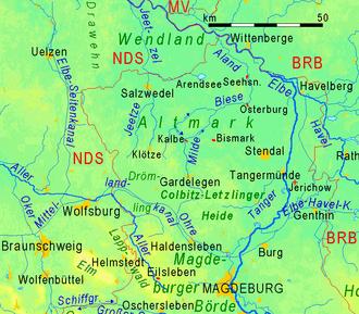 Altmark - Topography of the Altmark
