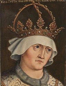 Alžběta na obrazu neznámého umělce.