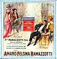 Amaro Felsina Ramazzotti, immagine pubblicitaria, 1925 - san dl SAN IMG-00002973.jpg
