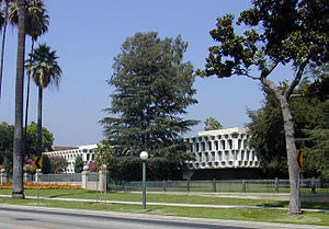 Orange Grove Boulevard (Pasadena) - The Ambassador Auditorium is part of Ambassador College's former campus on Orange Grove Boulevard.