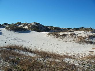 American Beach, Florida - NaNa dune, named after the Beach Lady