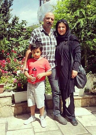 Amir Jafari - Amir Jafari and his family