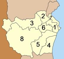 Phetchaburi Province-Administrative divisions-Amphoe Phetchaburi