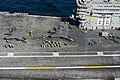 An F-35C Lightning II lands aboard USS Nimitz. (15091026113).jpg