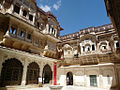 An inner courtyard, Mehrangarh Fort.jpg