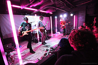 Anamanaguchi - Anamanaguchi at U Street Music Hall in Washington, D.C. in 2015.