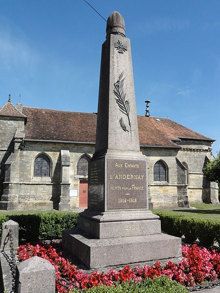 Andernay (Meuse) monument aux morts