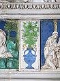 Andrea della robbia, pala dell'ascensione di maria, predella, 04 vaso.jpg