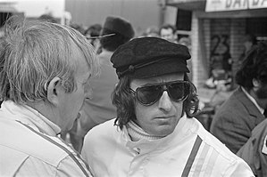 1971 Formula One season - Jackie Stewart (on right) won his 2nd driver's championship, driving for Tyrrell