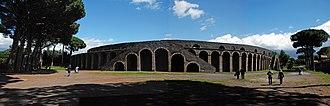 Amphitheatre of Pompeii - The Amphitheatre of Pompeii - exterior