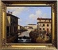 Angelo inganni, il naviglio dal ponte san marco, 1834-37.JPG