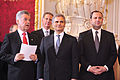 Angelobung der Bundesregierung, 2.12.2008 (3076513157).jpg