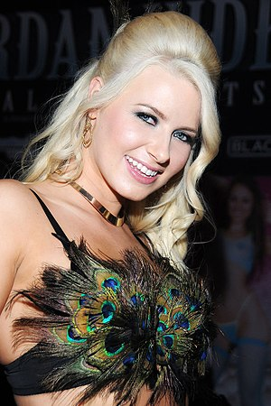 32nd AVN Awards - Anikka Albrite, winner of the 2015 AVN Female Performer of the Year Award