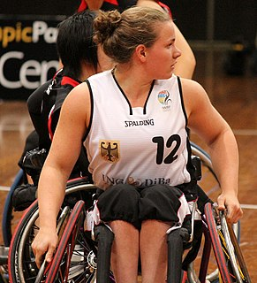 wheelchair fencer and 1.5 point wheelchair basketball player