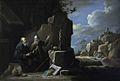 Anne Margaret Coke, Elijah and the Ravens (after Teniers), Shugborough Hall, National Trust.jpg