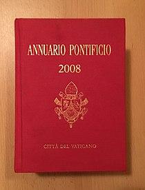 Annuario Pontificio 2008 (MK).jpg