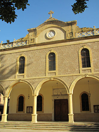 Fairuz - The Church in, Achrafieh, Beirut where Fairouz married.