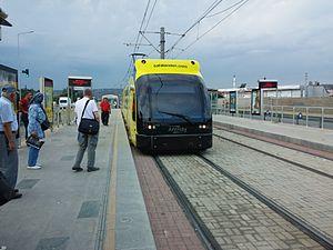 Trams in Antalya - Antray, CAF Urbos tram