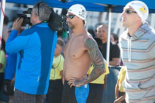 Anthony Ervin American competition swimmer