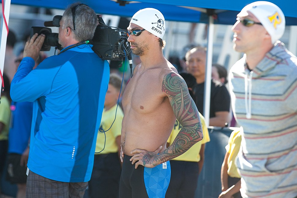 Anthony Ervin at start of 50m free (27023743703)