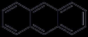 Acene - Image: Anthracene 2D Skeletal