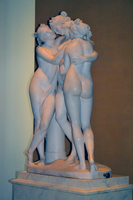Antonio Canova (1757-1822) - The Three Graces, Woburn Abbey version (1814-1817) front right, Victoria and Albert Museum, August 2013 (11059614986).png