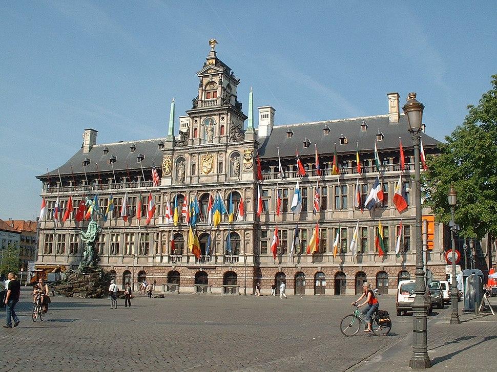 Antwerp town hall, 25 april 2007 1