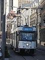 Antwerpen - Antwerpse tram, 23 juli 2019 (042, Lange Gasthuisstraat, station Mechelseplein).JPG