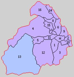 Nakatsugaru District, Aomori - Image: Aomori Naka Tsugaru gun 1889