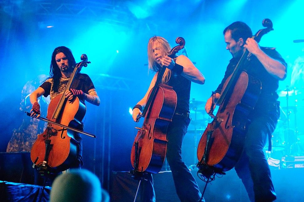 Apocalyptica - Ilosaarirock 2009