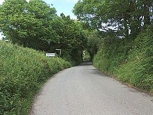Treworga - The southern approach to Treworga