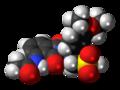 Apremilast molecule spacefill.png