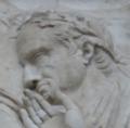 Ara Pacis, Sextus Appuleius I possibly.png