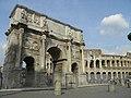 Arc de Constantin et Colisée (Rome).jpg