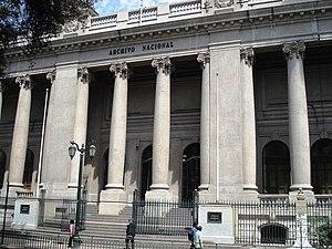 National Archives of Chile - Archivo Nacional de Chile, Santiago de Chile