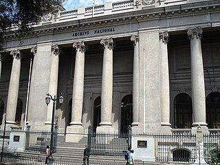 National Archives of Chile national monument of Chile