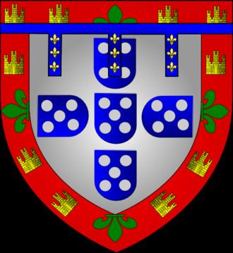 Diogo, Duke of Viseu - Coat of arms of Viseu
