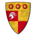 Armorial Bearings of the MORTON family of Evesbatch, Herefordshire.png